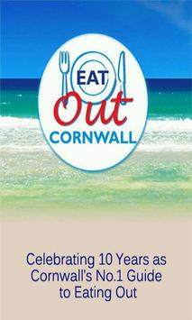 Eat Out Cornwall poster