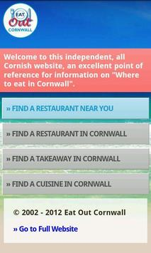 Eat Out Cornwall apk screenshot