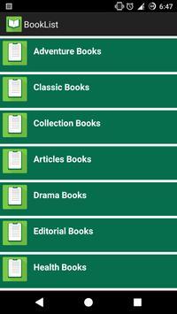 Books of Bangladesh apk screenshot