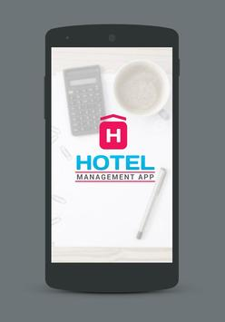 Hotel Management App poster