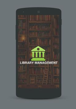 Library Management App poster