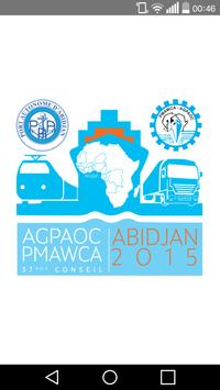 AGPAOC Abidjan 2015 poster