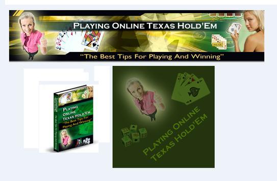 Ebook Online Texas Hold em apk screenshot