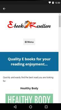 EBook Resellers apk screenshot
