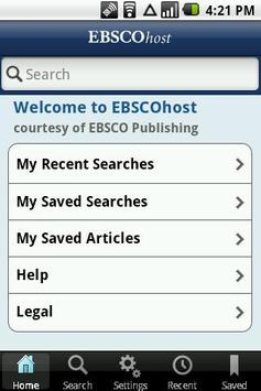 EBSCOhost poster