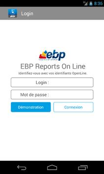 EBP Reports On Line poster
