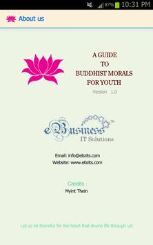 Guide To Buddhist Morals apk screenshot