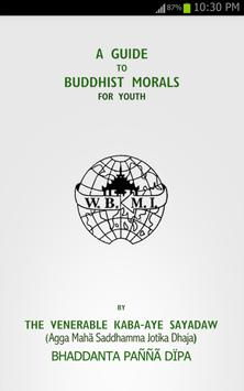 Guide To Buddhist Morals poster