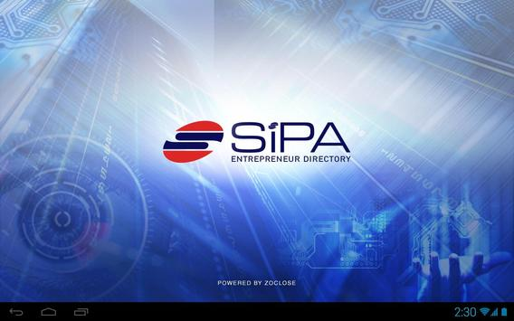 SIPA Software Entrepreneur poster