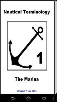 Nautical Terminology. A Marina poster