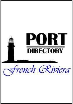 Port Directory French Riviera poster