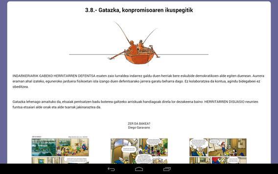 Eskubideen ibilbidea apk screenshot
