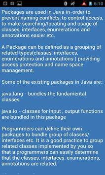 Java Interview Tutorials apk screenshot