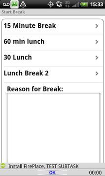 Timecard GPS LITE apk screenshot