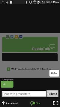 ReadyTalk Conferencing apk screenshot