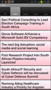Calendar Me South Africa 2014 apk screenshot