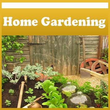 Home Vegetable Gardening Tips poster