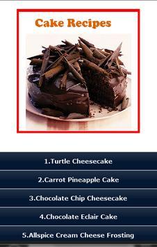 Cake Recipes ! poster