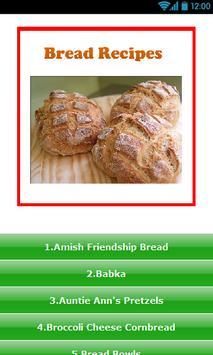 Bread Recipes ! poster