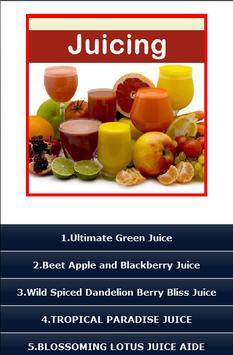 Juicing Recipes ! poster