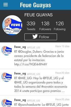 FEUE Guayas apk screenshot