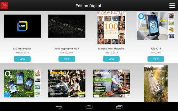 Edition Digital Content Viewer apk screenshot