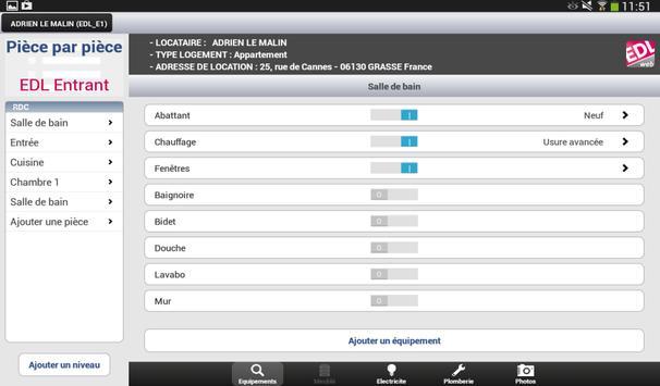 EDL web - Etat des lieux apk screenshot