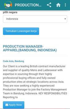 Informasi Lowongan Kerja apk screenshot