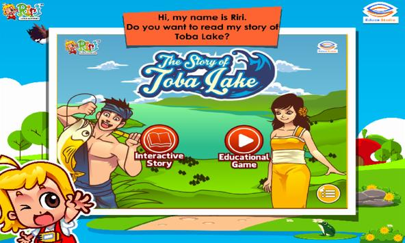 Toba Lake Kids Story Book poster