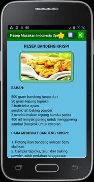 Resep Masakn Indonesia Spesial apk screenshot