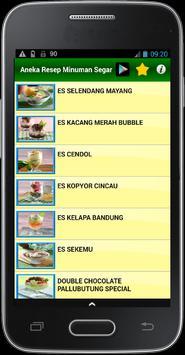 Aneka Resep Minuman Sehat apk screenshot