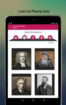 Famous People SMART Biography apk screenshot