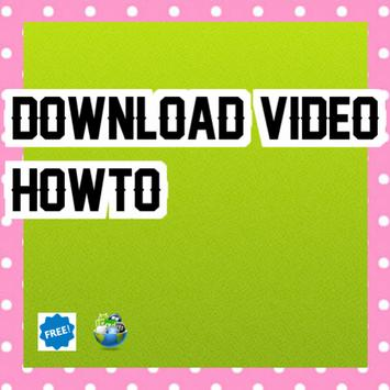 download video howto poster