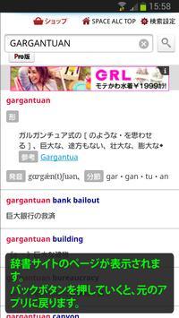 旧どこでも辞書検索 apk screenshot