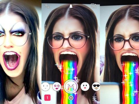 Tips Snapchat Lenses Update poster