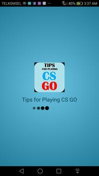 Tips For Playing CS:GO poster
