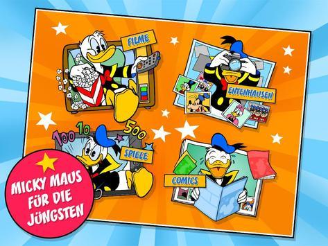 Micky Maus Junior poster