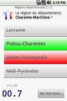 French Departments apk screenshot