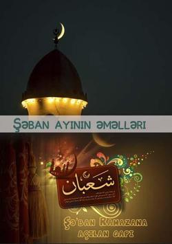 Şəban ayının əməlləri poster