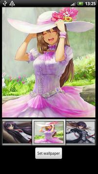 Anime Girl Live Wallpapers apk screenshot