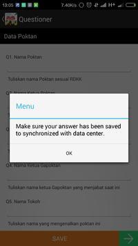 Kumpul Data apk screenshot