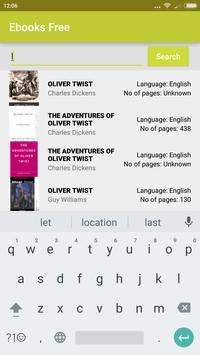Ebooks Free apk screenshot