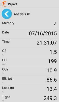 E Instruments Analyzer App apk screenshot
