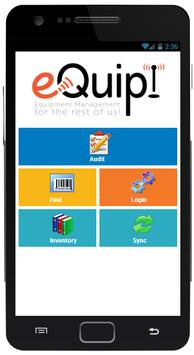 eQuip! Mobile Asset Manager poster