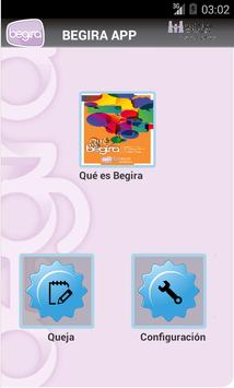 BEGIRA app poster
