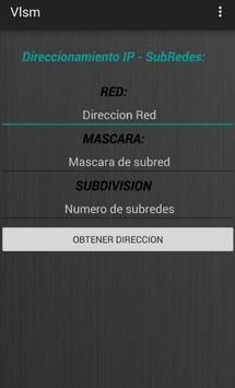 Direccionamiento IP / Subneteo apk screenshot