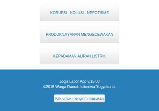 Jogja Lapor! apk screenshot