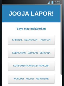 Jogja Lapor! poster
