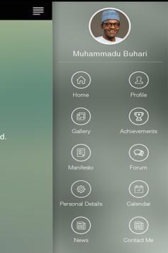 Support Buhari/Osinbajo 2015 apk screenshot