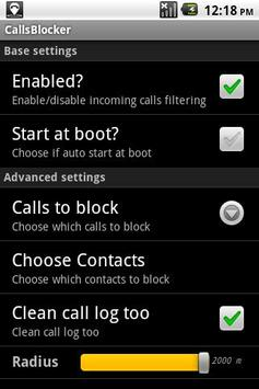 Localized Calls Blocker poster